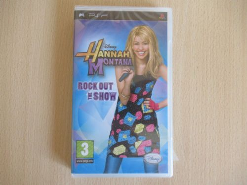 Hannah Montana Rock Out The Show (PSP)